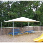 18' x 20' STAND ALONE SHADE STRUCTURES
