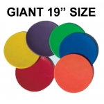 "19"" X-LARGE POLY SPOTS (SET OF 6)"