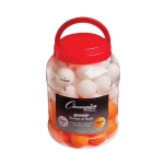 1 Star Tournament Table Tennis Balls - Bucket of 60 Balls