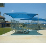 20' x 24' STAND ALONE SHADE STRUCTURES