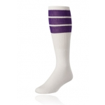 TCK 3 Striped Athletic Tube Socks