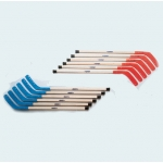 "Shield 42"" Wood Replacement Stick Red Or Blue (Set of 6)"