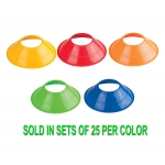 "5"" Diameter Neon Flexible Disc Cones (Sets Of 25)"
