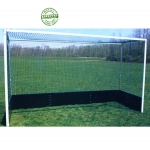Field Hockey Goal with Steel Bottom Boards (Pair)