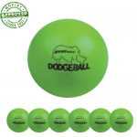 "6"" Rhino Skin Neon Green Dodgeball Set Of 6"