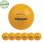 "6"" Rhino Skin Neon Orange Dodgeball Set Of 6"