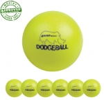 "6"" Rhino Skin Neon Yellow Dodgeball Set Of 6"