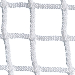 7MM Knotless White Official Size Lacrosse Net (Pair)