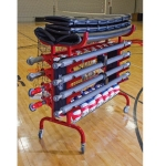 8 Pole Volleyball System Equipment Carrier