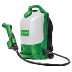 Electrostatic Backpack Sprayer For Disinfecting Large Areas Quickly and Safely