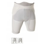 Adams 655 5 Pocket Padded Football Girdle With High Rise Sewn In Pads