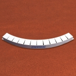 ALL METAL SHOT PUT TOE BOARD