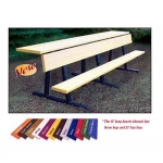 Jaypro Aluminum Benches W/ Shelf