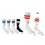 Asics Old School Striped Knee High Socks