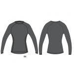 Asics Women's Compression Long Sleeve Jersey