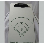 Baseball Field Dry Erase Coaching Board