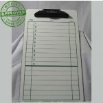 "Baseball Lineup Dry Erase Coaching Board 9.5"" X 15.5"""