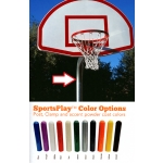 Basketball Backstop Post Powder Coating Service