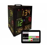 Befour 3 Panel Edge Scoring System Wrestling Score Clock