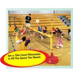 BIG RED BASE SITTING VOLLEYBALL NET SYSTEM