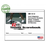 Big Red Tennis Scorebook