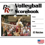 Big Red Volleyball Scorebook