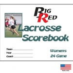 Big Red Womens Lacrosse Scorebook