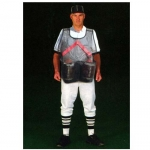 Black Mesh Football Ball Vest