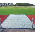 Blanket Style Weighted Track Protectors for Track & Field Track