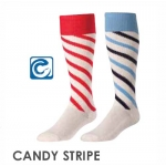 TCK Candy Stripe Heel & Toe Soccer Socks