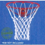 Carron Net 10200 Anti Whip Cotton Basketball Net (Pair)