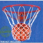 Carron Net 10201 Anti Whip Nylon Basketball Net (Pair)