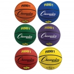 Champion Sports Rubber Basketballs
