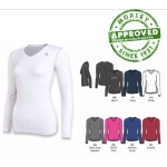 Champion Women'S Double Dry Long Sleeve Compression Top