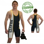 Cliff Keen S794332 Custom Team Sublimated Panel Singlet