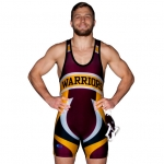 Cliff Keen S794351 Custom Team Sublimated Singlet Template