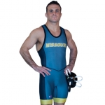 Cliff Keen S79CK43J Sublimated Compression Band Singlet
