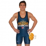 Cliff Keen S79REV43J Custom Sublimated Reversible Singlet (2 In 1)