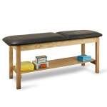 Clinton Industries 1020-30 Treatment Table With Shelf