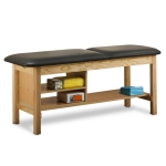 Clinton Industries 1030-30 Treatment Table With Shelving