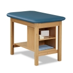 Clinton Industries 1703-30 Taping Table With End Shelf Compartments