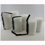 Closed Cell 2 Piece Pull Buoy White - 3 Sizes To Choose From