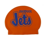 Custom 30 Gram Latex Swim Cap - 1 Color Logo