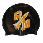 Custom Silicone Swim Cap - 2 Color Logo