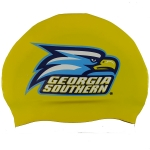 Custom Silicone Swim Cap - 3 Color Logo