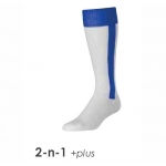 TCK Deluxe 2-In-1 Baseball Socks