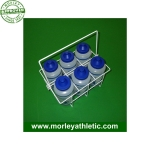 Deluxe Bottle Set Of 6 With Wire Rack