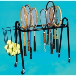Deluxe Roll-A-Bout Racket Stand