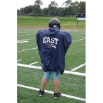 Deluxe Sideline Cape With Team Logo
