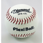 "DIAMOND DFX-12 12"" WHITE FLEX-I-BALL SOFTBALL"